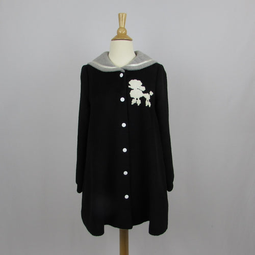 Ank Rouge Poodle Coat - Cherry Cordial