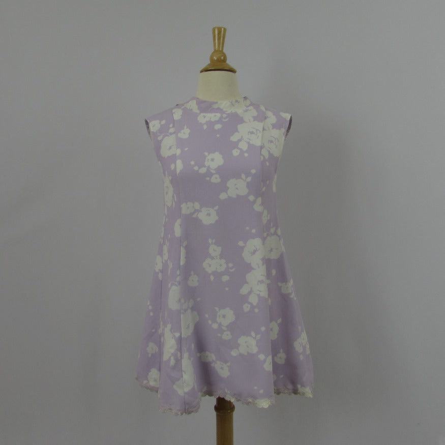 Liz Lisa Lavender Shift Mini Dress