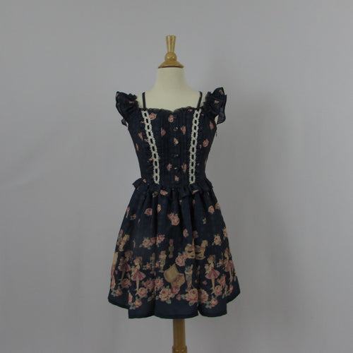 Liz Lisa Navy Floral Dress
