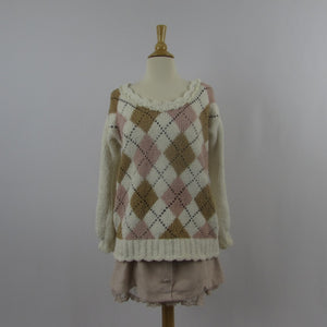 Liz Lisa Cozy Argyle Sweater