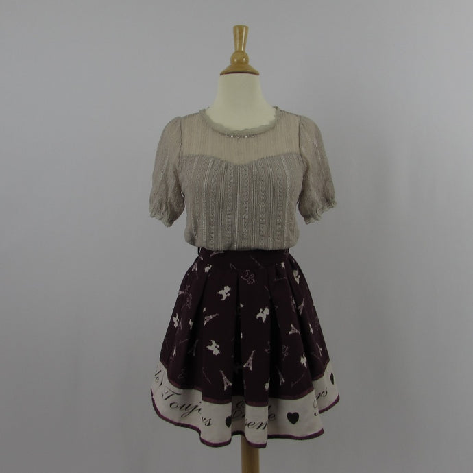 Ank Rouge French Poodle Skirt