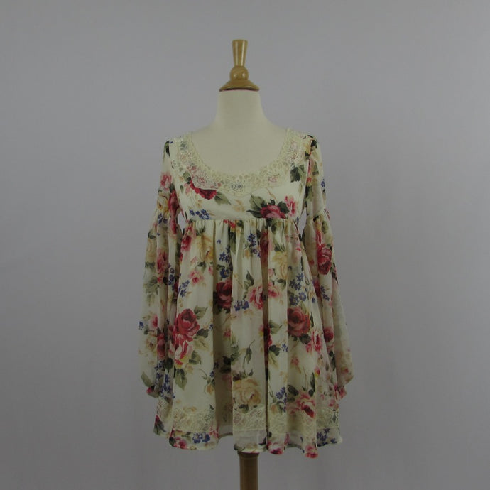 Liz Lisa Floral Mini Baby Doll Dress