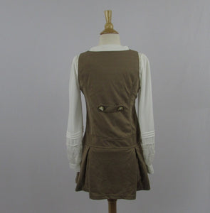 Tralala Brown Retro Dress