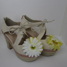 Liz Lisa Sun Flower Wedges - Cherry Cordial