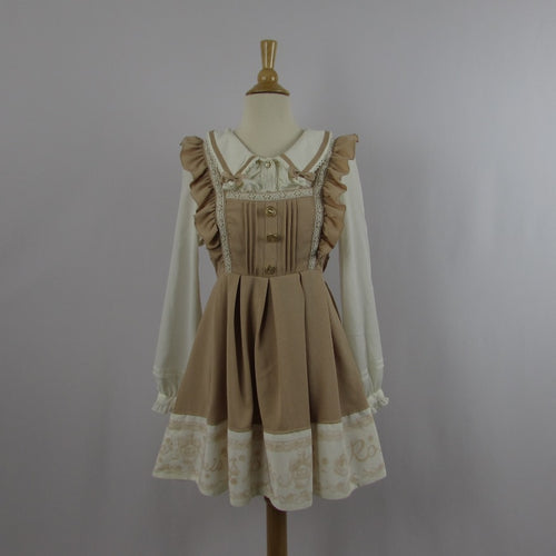 Liz Lisa Beige Perfume Bottle Dress