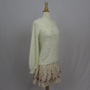 Tralala Cozy Sweater - Cherry Cordial