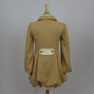Ank Rouge Camel Coat - Cherry Cordial