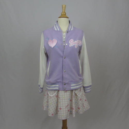 Juniorsweet Pastel Baseball Jacket