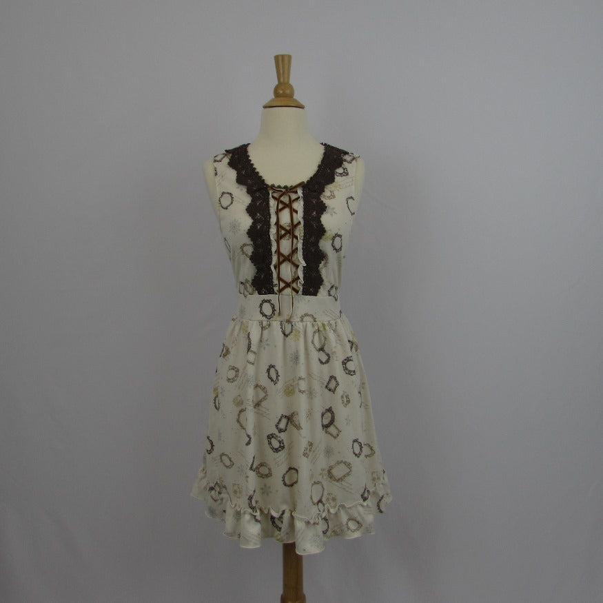 Axes Femme Frames and Snow Flakes Dress