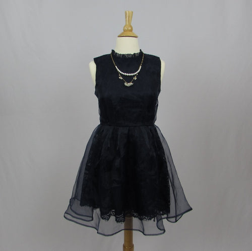 Liz Lisa Navy Party Dress - Cherry Cordial