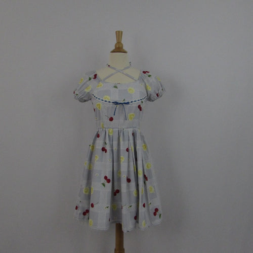 Ank Rouge Cherry Lemonade Dress NWT