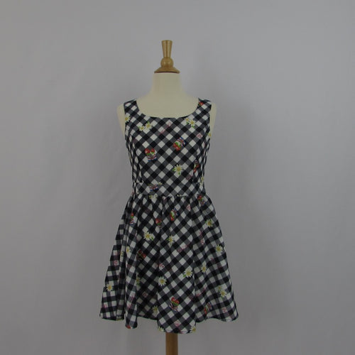 Ank Rouge Summer Gingham Dress