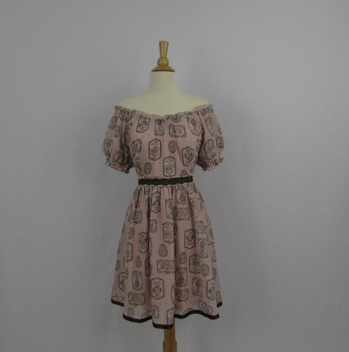 Axes Femme Poetique  Pink Antique Bakery Dress