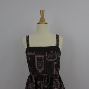 Axes Femme Brown Perfume Dress