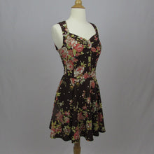 Penderie Brown Floral Dress - Cherry Cordial