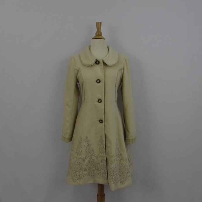 Axes Femme Cream Princess Coat