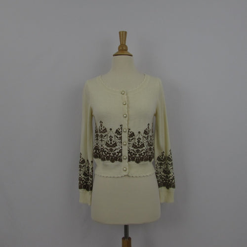 Liz Lisa Cream Flocky Cardigan
