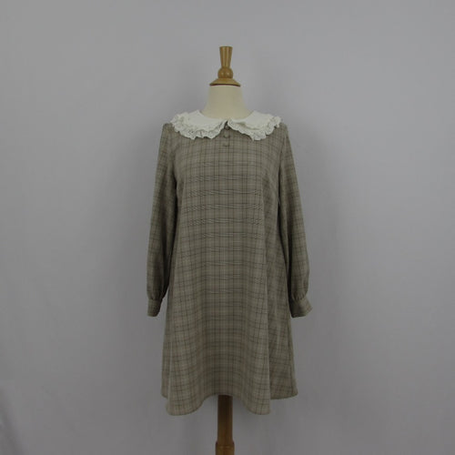 Ank Rouge Plaid Tent Dress