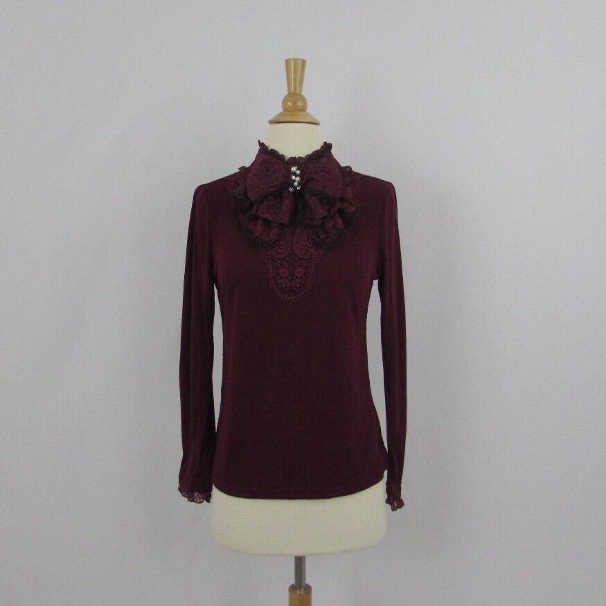 Axes Femme Burgundy Princess Top