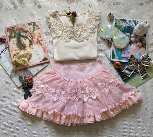 Tralala Pink Princess Skirt