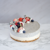 Silken Tofu Black Sesame Cheesecake