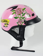DOT Lady Rider Motorcycle Helmet - Edward Coy