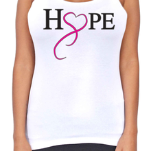 Dri Fit Hope And Love T-Back Tank Top - Edward Coy