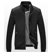 Mens Bomber biker Jacket - Edward Coy