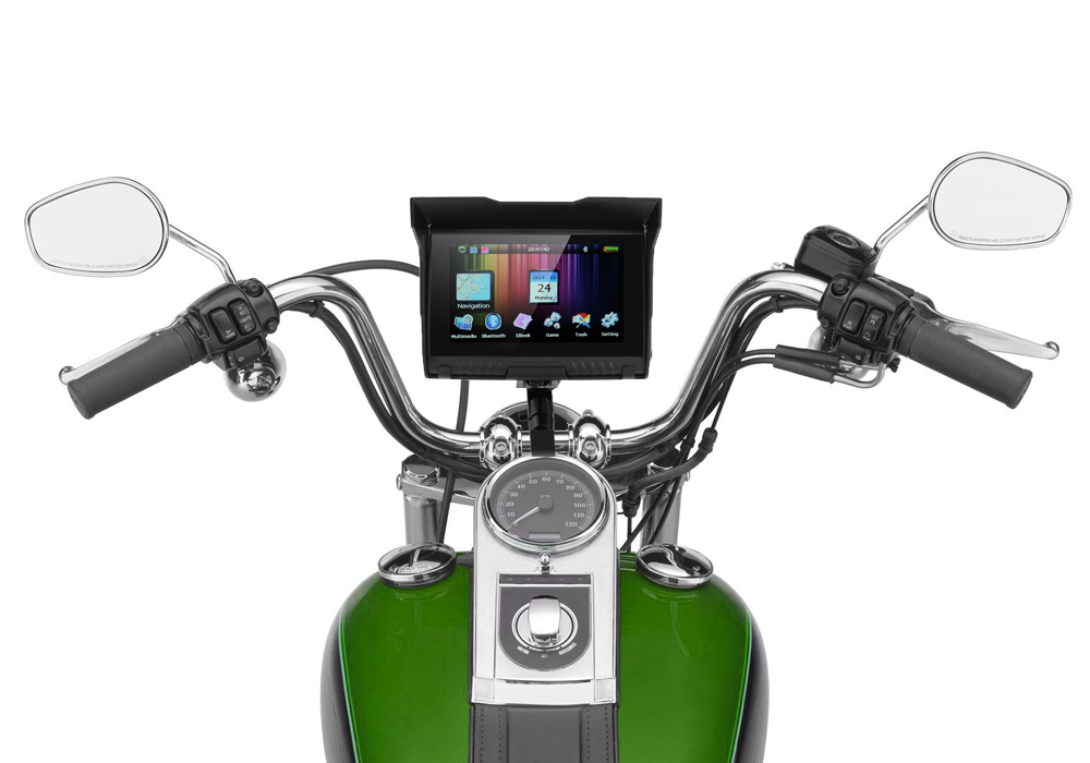 5 Inch Motorcycle GPS - Edward Coy