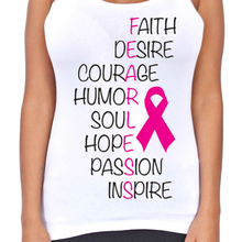 Dri Fit Fearless Breast Cancer T-Back Tank Top - Edward Coy