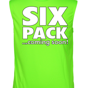 Men's Dri Fit Six Pack...Coming Soon! Sleeveless Shirt - Edward Coy