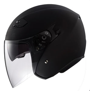 DOT Motorcycle Helmet Open Face with 2 Shields - Edward Coy
