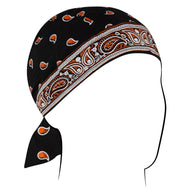 Classic Bandanna Black & Orange Flydanna - Edward Coy