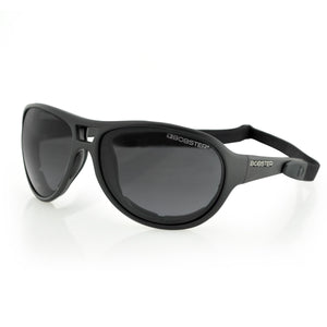 Criminal Biker Sunglasses with Black Frame - Edward Coy