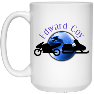 15 oz. White Mug - Edward Coy