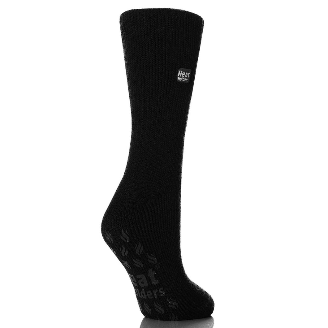 Grabber Heat Holders Ladies Slipper Socks - Edward Coy