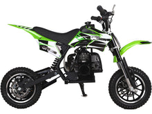 MotoTec 49cc GB Dirt Bike Green - Edward Coy