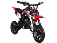 MotoTec 49cc GB Dirt Bike Red - Edward Coy