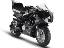 MotoTec 36v 500w Electric Pocket Bike GP Black - Edward Coy