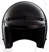 DOT Carbon Fiber 3/4 Motorcycle Helmet - Edward Coy