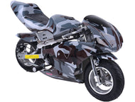 Rosso Gas Pocket Bike 33cc 2-Stroke Urban - Edward Coy