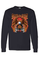 Biker Born To Ride Long Sleeve Shirt - Edward Coy