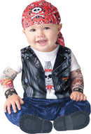 Born To Be Wild Baby Costume 6-12 Months - Edward Coy