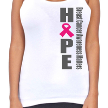 Dri Fit Hope Breast Cancer Awareness T-Back Tank Top - Edward Coy