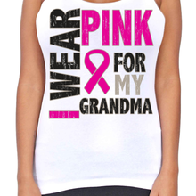 Dri Fit I Wear Pink For My Grandma T-Back Tank Top - Edward Coy