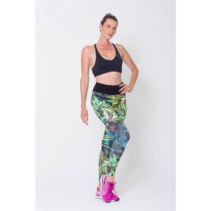 Botanical Print Leggings - Edward Coy