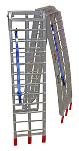 Pit Posse Pair Folding Arched Ramp 9 Foot x 11in 1200lbs - Edward Coy