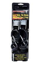 Pit Posse Tie Down 1 x 72 Inch With Soft Tye & Safety Clips - Edward Coy