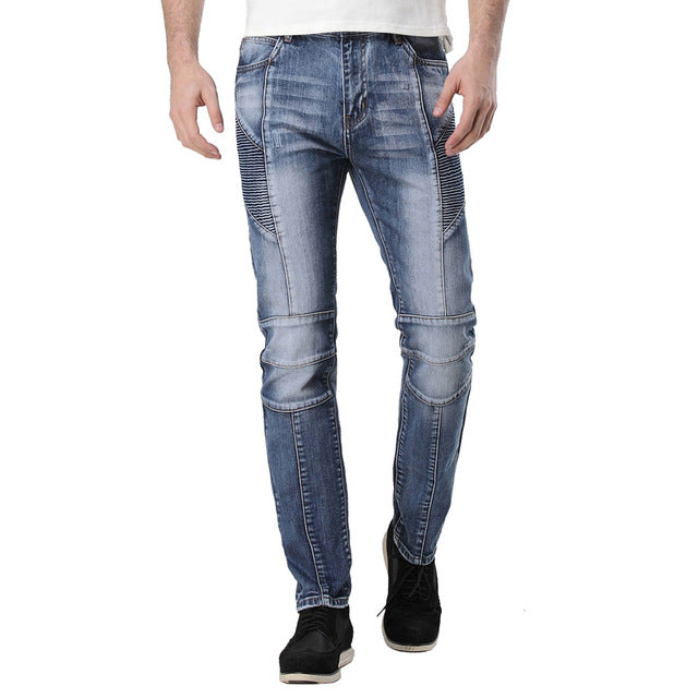 Men's Urban Zipper Jeans - Edward Coy