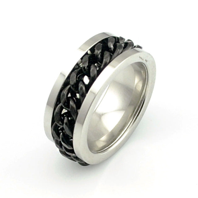 men's chain ring - Edward Coy
